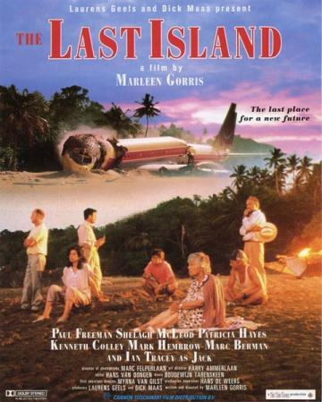 На остров падает самолет, выживает несколько мужчин, молодая и пожилая женщины и собака по имени Вторник