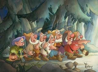 Старый мультфильм с гномами
