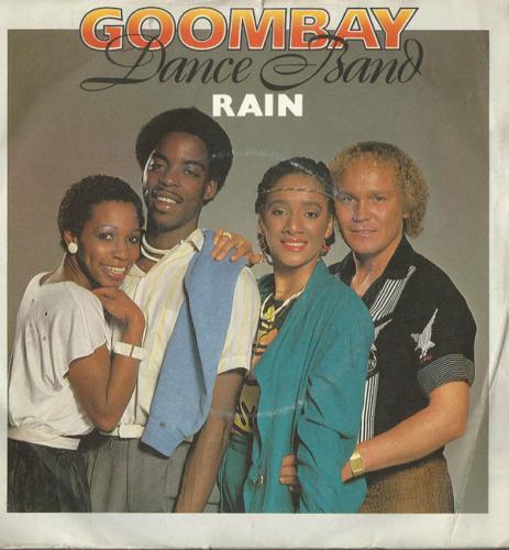 Песня, начинается с дождя с раскатами грома. Не по-русски.