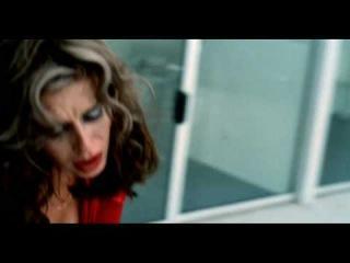 В клипе девушка от кого то убегает, через поля, кусты. Одета в легкое красное платье