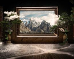 Рассказ о художнике, ушедшем в свою картину