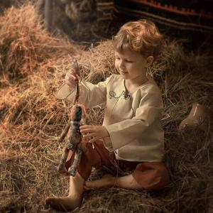 Короткий рассказ про деревенского мальчика