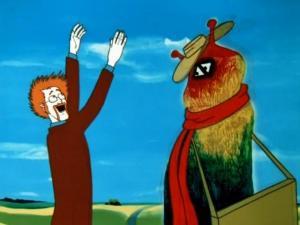 Советский мультфильм. Музыка из крестного отца.
