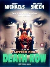 Американский  фильм про приговоренных к смертной казни. Показвали по ТВ лет 8 назад. Главная героиня - женщина-репортер.