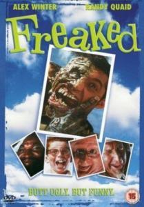 Иностранный ужастик 90-х, там друзья забредают в лес вроде,а потом их кто-то начинает превращать в уродов. Урод, которого помню-с рукой вместо головы