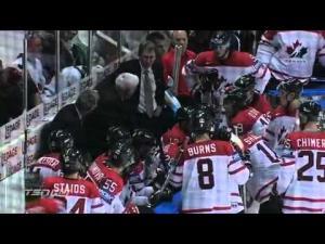 Чемпионат мира по хоккею Россия : Канада 5:4 в овертайме наши победили.